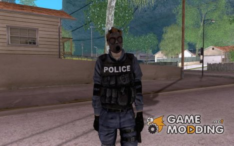 SWAT скин for GTA San Andreas