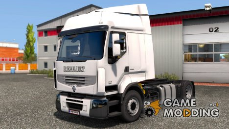Renault Premium  Reworked v3.4 for Euro Truck Simulator 2