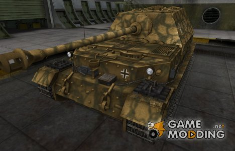 Немецкий скин для Ferdinand for World of Tanks