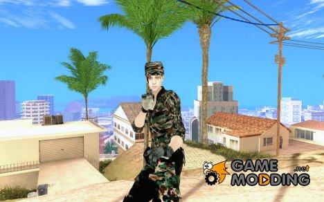 Военнослужащая HD for GTA San Andreas