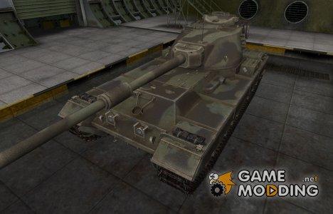 Пустынный скин для FV215b для World of Tanks