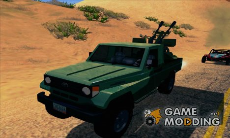 Toyota Land Cruiser Army для GTA San Andreas