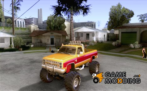 Chevrolet Silverado 2500 MonsterTruck 1986 for GTA San Andreas