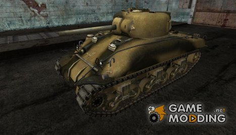 Шкурка для M4 Sherman для World of Tanks