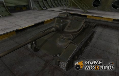 Шкурка для американского танка T71 for World of Tanks