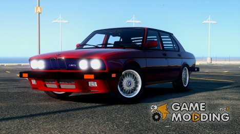1985 BMW M5 E28 NA-spec v2.0 for GTA 5