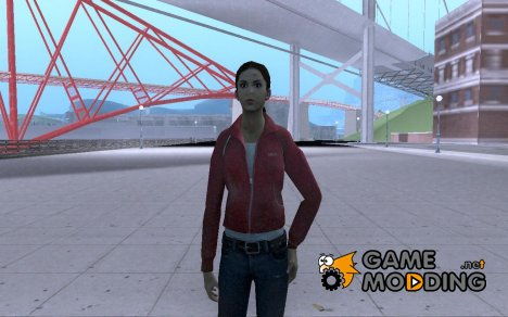 Зоя из Left 4 Dead for GTA San Andreas
