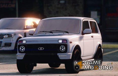 Lada Niva Urban 2016 1.2 for GTA 5