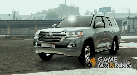 Toyota Land Cruiser 2016 for GTA 5
