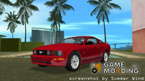 Ford Mustang GT 2005 for GTA Vice City