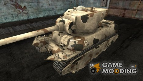 Шкурка для M6A2E1 for World of Tanks