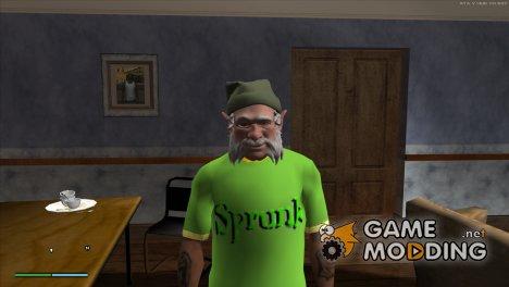 HD футболка Sprunk for GTA San Andreas