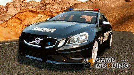 Volvo S60 Sheriff for GTA 4