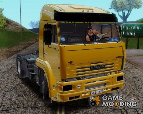 КамАЗ 5460  из фильма Дальнобойщики 2 для GTA San Andreas