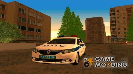 Renault Logan ОБ ДПС ГИБДД for GTA San Andreas
