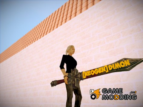 Меч для [NeoGen]Dimon (Из WOW) for GTA San Andreas