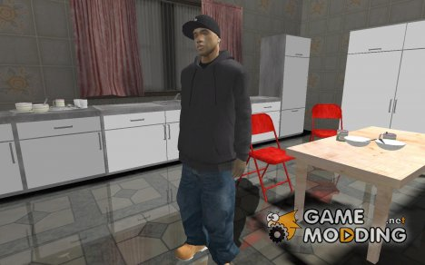 Бандит из Crips 1 для GTA San Andreas