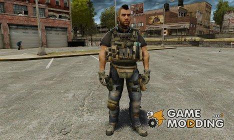 Капитан Джон «Соуп» МакТавиш for GTA 4