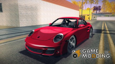 Porsche 997 Turbo Tunable for GTA San Andreas