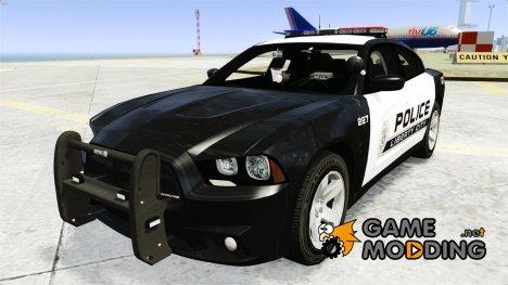 Dodge Charger 2013 Police Code 3 RX2700 v1.1 ELS для GTA 4