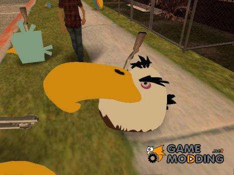 Might Eagle from Angry Birds для GTA San Andreas