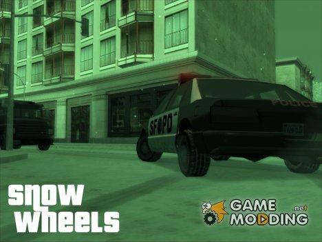 Snow Wheels для GTA San Andreas