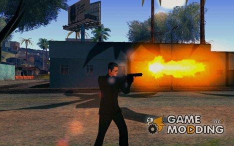 Новый эффекты при стрельбе for GTA San Andreas