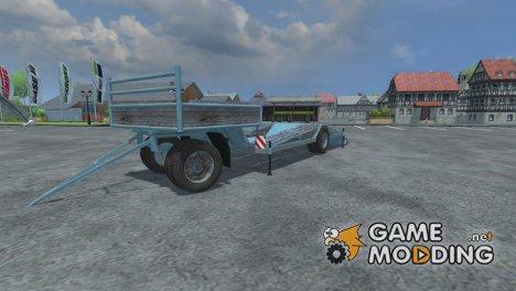 Lowloader Trailer для Farming Simulator 2013