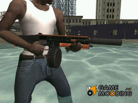 Orange weapon for GTA San Andreas