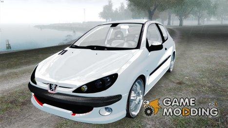 Peugeot 206 1.6 XT 2001 for GTA 4