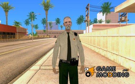 Качественный скин полицейского для GTA San Andreas