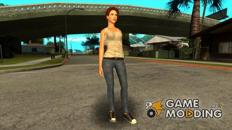 Amazing Player Female for GTA San Andreas