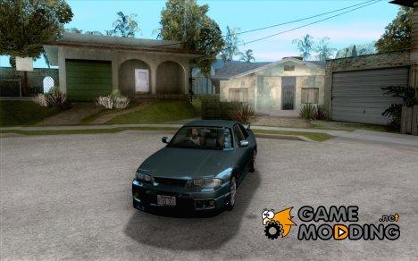 Nissan Skyline GTR BNR33 for GTA San Andreas