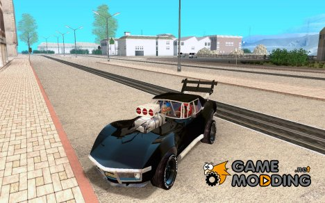 Chevrolet Corvette drag для GTA San Andreas
