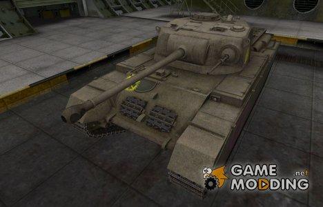 Контурные зоны пробития Centurion Mk. I для World of Tanks