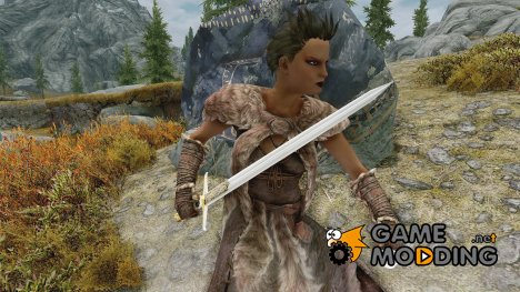 Standalone09s King Sword for TES V Skyrim