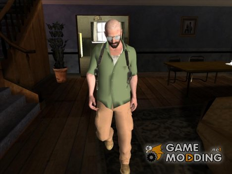 Макс Пэйн 3 в зеленой рубашке for GTA San Andreas