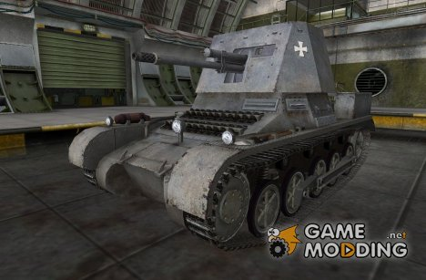 Ремоделинг для PanzerJager I для World of Tanks