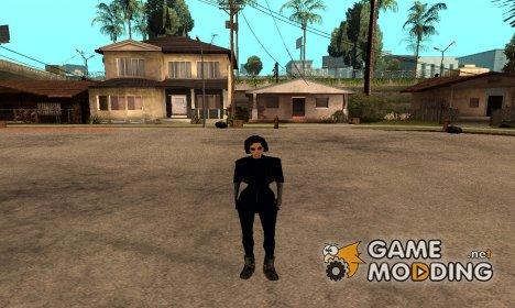Леди в очках для GTA San Andreas