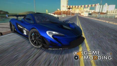 2016 McLaren P1 GTR для GTA San Andreas