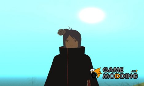Конан из Наруто HD (Акацке) для GTA San Andreas
