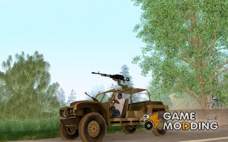 FAV Buggy из Battlefield 2 для GTA San Andreas
