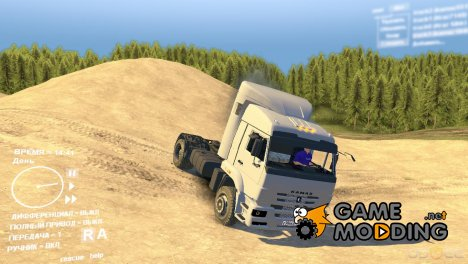 КамАЗ 1840 TM for Spintires DEMO 2013
