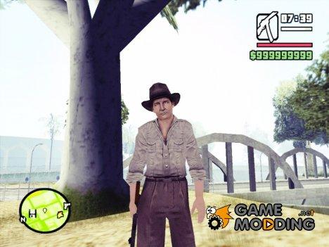 Индиана Джонс для GTA San Andreas