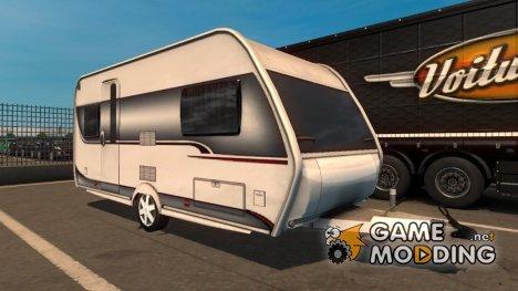 Дом на колёсах для Euro Truck Simulator 2
