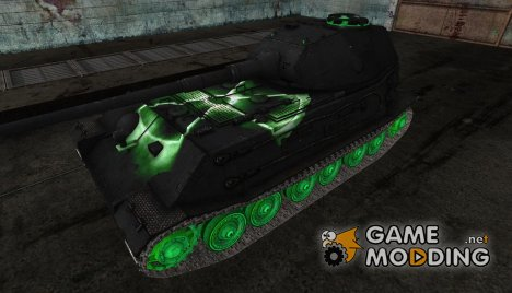 Шкурка для VK4502(P) Ausf B (Радиация) for World of Tanks