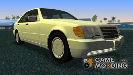 Mercedes-Benz 600SEL (W140) 1991 for GTA Vice City