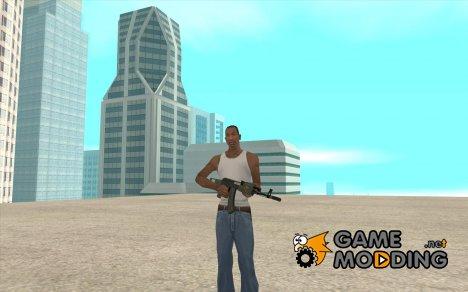 АК-47 с глушителем из GTA 5 (Final) для GTA San Andreas