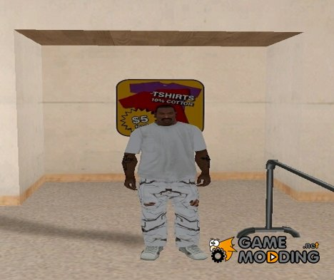 Маскировочные штаны for GTA San Andreas