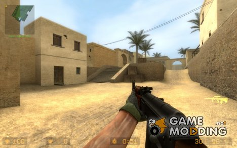 Twinke Masta AK-74 for AUG for Counter-Strike Source